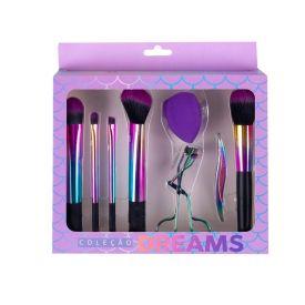 Conjunto De Maquiagem Dream 8 Peças Contatho - Holografico