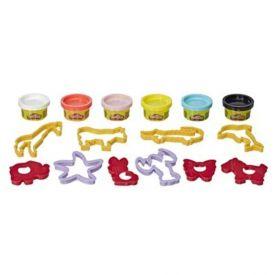 Conjunto de Massinha Play-Doh Animais Hasbro - E8535 - Colorido