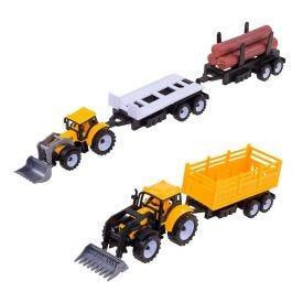 Conjunto Fazenda Trator E Reboque Havan - HME0212