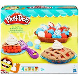 Massa de Modelar Tortas Divertidas Play-Doh Hasbro - Amarelo