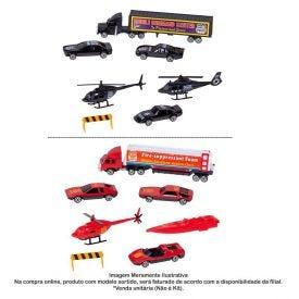 Conjunto Veículos De Resgate Super Turbo - HBR0016