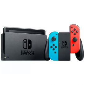 Console Nintendo Switch Azul E Vermelho 32Gb Com Joy-Con - HBDSKABA1