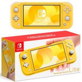 Consosle Switch Lite Nintendo Amarelo - DIVERSOS