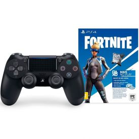 Controle DualShock sem Fio PS4 + Voucher Fortnite - Sony