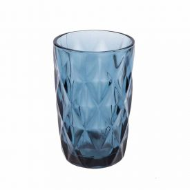Copo Alto Lyor Diamond 330Ml - Azul