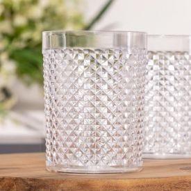 Copo Crystal Diamante 490ml Niquelart - Transparente