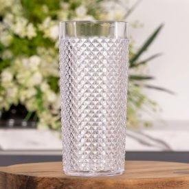Copo Crystal Diamante 500ml Niquelart - Transparente