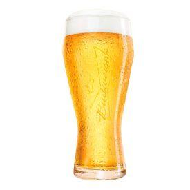 Copo de Cerveja Budweiser 400ml - Vidro