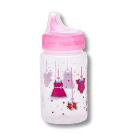 Copo Valvula Redutora 340Ml Babygo - Pink