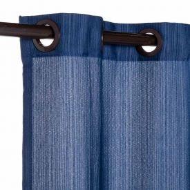 Cortina Pantex Rústica 2,00X1,70M - Azul Denin