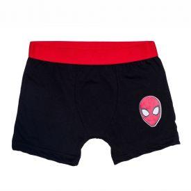Cueca Boxer 4 a 10 anos Spider Marvel