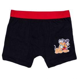 Cueca Boxer Mickey 4 a 10 Anos Disney Preto