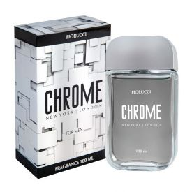 Deo Colônia Chrome Fiorucci - 100ml