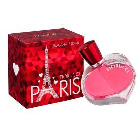 Deo Colonia Paris 80ml Fiorucci - Vermelho