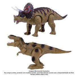 Dinossauro Com Mecanismo Dino World - HBR0079