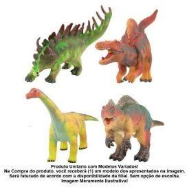 Dinossauro Sonoro De Vinil Bbr Toys - R2925