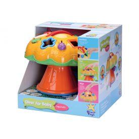 Diver for Baby Cogumelo 697 DiverToys - Amarelo