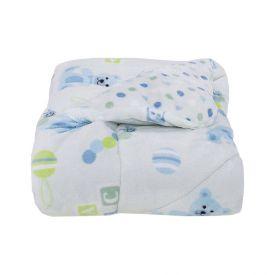 Edredom Para Bebê Plush 1,00Mx1,10M Plush Yoyo Baby - Ted