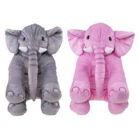 Elefante De Pelúcia Grande Bichinhos Carinho - 565