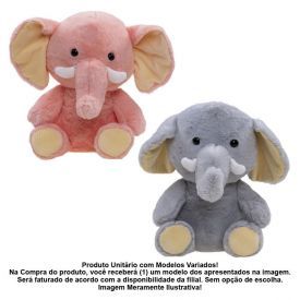 Elefante De Pelúcia Havan - HPA0007