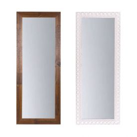 Espelho Havan Liso 120Cm - Madeira