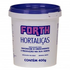 Fertilizantes para Jardim 400g Forth - Hortaliças