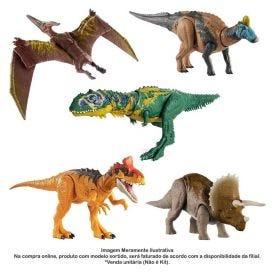 Figura Articulada Com Sons Jurassic World Ruge E Ataca Mattel - GJN64