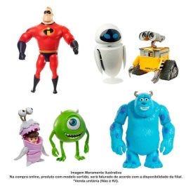 Figura Articulada Disney Pixar Monstros S.A. Mattel - GLX80