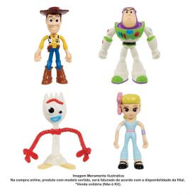 Figura Articulada Disney Pixar Toy Story 4 Mattel - GGL00