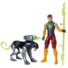 Figura Max Steel e Pantera Mattel - FDT75 - Verde