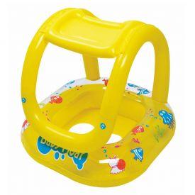 Flutuador Inflável para Bebê Master Beach - Amarelo