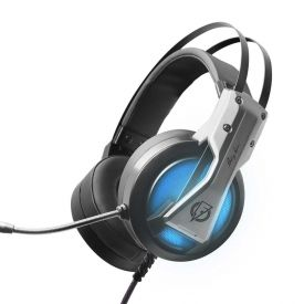 Fone Gamer Com Áudio 7.1 Virtual Elg Storm Flakes Power Flkh001 - Preto