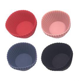 Forma De Cupcake Havan Casa Basic 6 Peças - Silicone