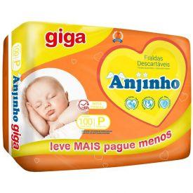 Fralda Descartável Anjinho Giga P - C/ 100uni.