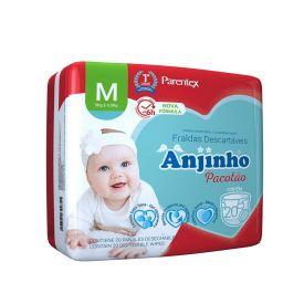 Fralda Descartável Anjinho M Pacotão 20 Unidades - Diversos