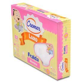 Fralda Luxo Estampada 5 peças Cremer - Menina