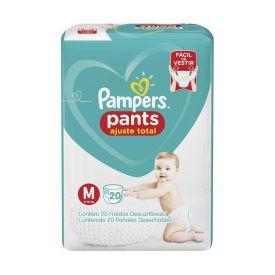 Fralda Pampers Confort Sec Pants Pacotão Tam. M - 20 Unidades