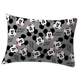 Fronha Estampada 48X68cm Disney - Mickey Preto e Branco