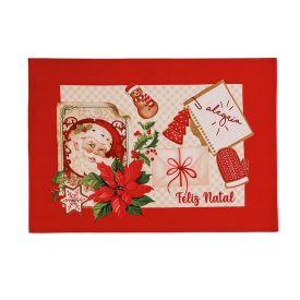 Fundo De Prato 33X45cm Natal Karsten- - Receita do Noel