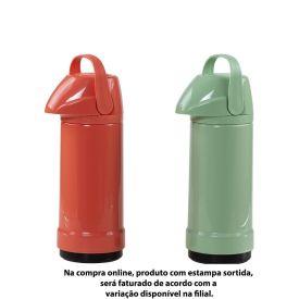 Garrafa Térmica Glt Pressão Lisa 1 Litro Invicta - Sortidas