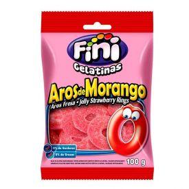 Goma Aros De Morango Fini - 100g