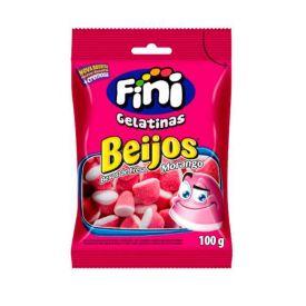 Goma Beijo De Morango Fini - 100g