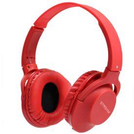 Headset Estéreo Com Microfone Hpwrd Stream Elg - Vermelho
