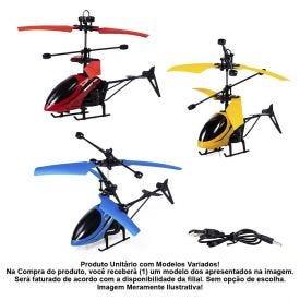 Helicóptero Com Sensor Havan - HBR0007