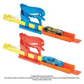 Hot Wheels Lançador Básico Com Carro Mattel - FTH84