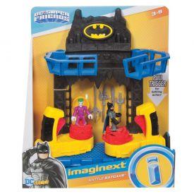 Imaginext Batalha na Batcaverna DC Fisher-Price - Preto