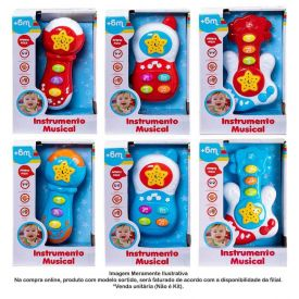 Instrumento Musical Baby Colorido - HBR0070