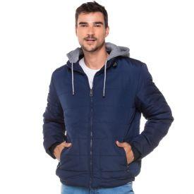 Jaqueta de Nylon com Capuz de Moletom Zune