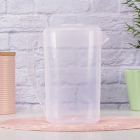 Jarra De Plástico 2 Litros Plasvale - Transparente