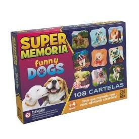 Jogo 3935 Super Memória Grow - Funny Dogz